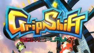 GripShift - PSP - Gameplay / Review - Puzzle - Plataform - Driving - Action