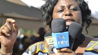 Aisha Jumwa declares war against Amason Kingi in ODM for supporting Malindi MP Willy Mtengo