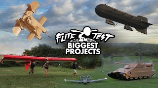 Our Fav GIANT DIY project? 🤔 | Biggest FT Projects of All Time Pt 3