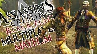 Assassin's Creed 4 Multiplayer Mayhem! (Wanted Gameplay Commentary)