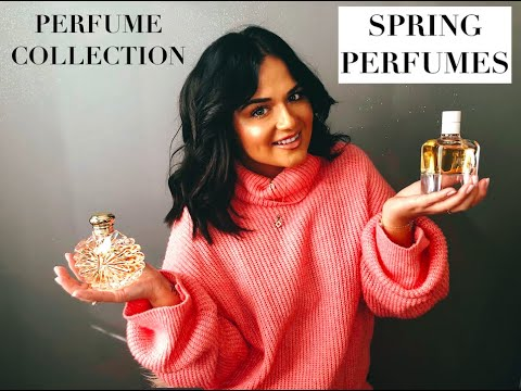 PERFUME COLLECTION & SPRING FRAGRANCE HAUL 2020 | UNIQUE SCENTS! | GUERLAIN | HERMES | CHANEL