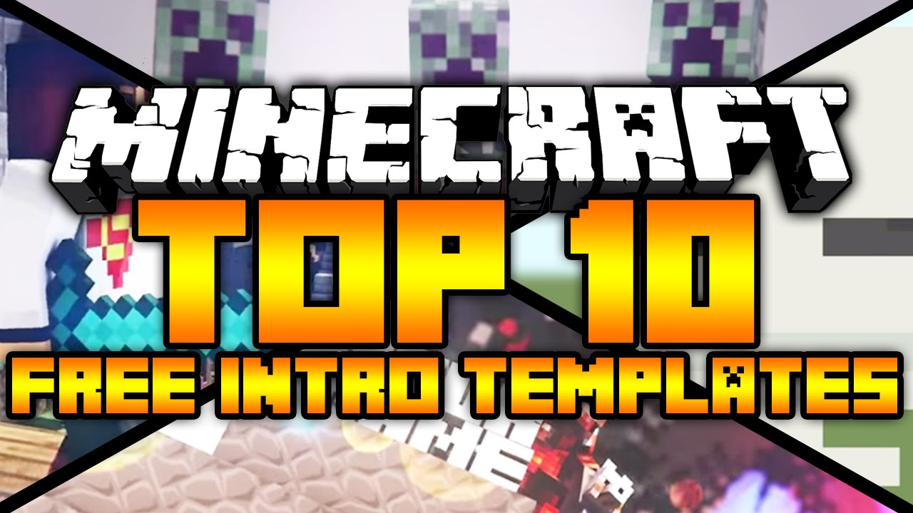 minecraft top 10 free minecraft intro templates 2015 sony vegas after effects cinema 4d. Black Bedroom Furniture Sets. Home Design Ideas