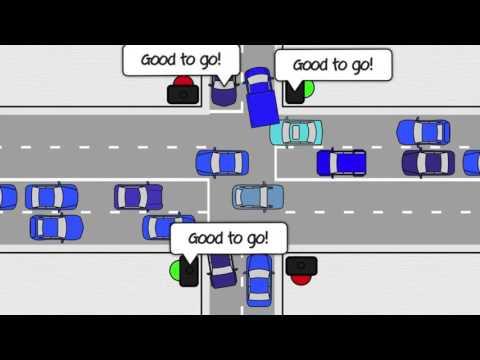 Traffic patterns manual vs. self-driving cars