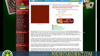 10 Feet X 60 Inches Red Polyester Poker Table Felt Suited Speed Cloth