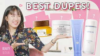 💰Affordable DUPES TEST for 6 Most Loved Skincare Products: Laneige, Tatcha, Farmacy & More!