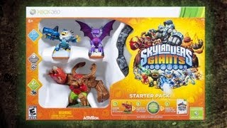 Skylanders Giants - Starter Pack Xbox 360 Walmart Exclusive Unboxing