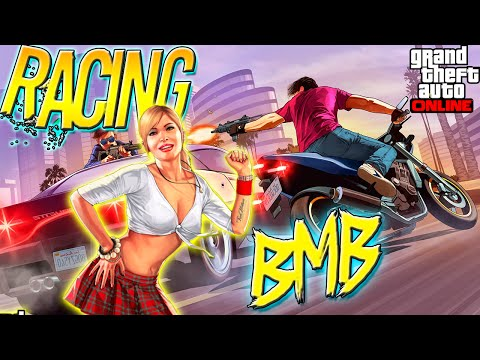 GTA 5 Funny Online Racing | LIVE w/ Mac Piff (Grand Theft Auto 5 Multiplayer)