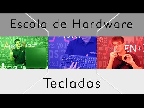 Explicamos tudo que você precisa saber sobre teclados na Escola de Hardware!