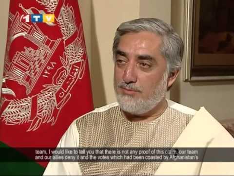 Abdullah Abdullah Interview with English Subtitles 12.05.2014 گفتگوی با عبدالله عبدالله