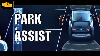 BMW Park Assist demonstration - BMW i3 / Asystent parkowania w BMW i3