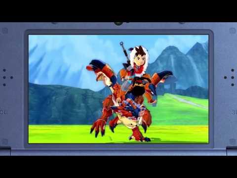 [3DS Trailer] Monster Hunter Stories - Nintendo Direct April 2017