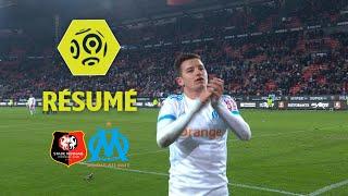 Stade Rennais FC - Olympique de Marseille (0-3)  - Résumé - (SRFC - OM) / 2017-18