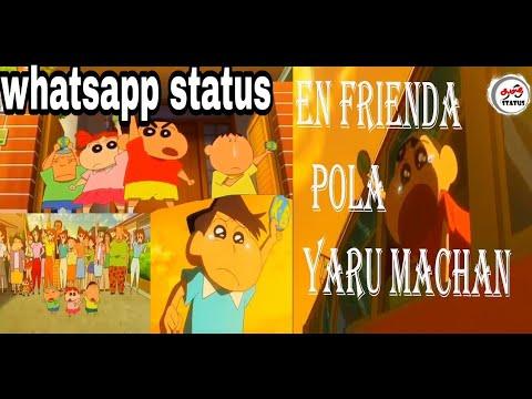 Download en frienda pola yaru machan |💞friends day special video shinchan version ❣️|whatsapp status