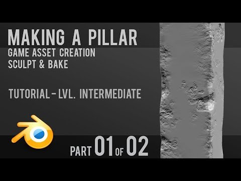 Create a Pillar | Detailed Tutorial | Game Asset | Part 1 of 2