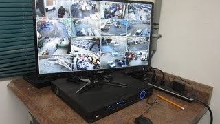 NVR with IP camera Installation and Wireless Bridge