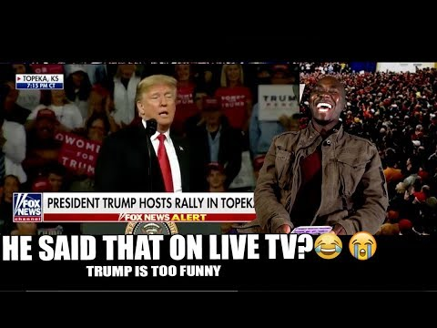WOW!😂After seeing this I gotta admit TRUMP is One FUNNY Guy! He ROASTED everyone on LIVE TV!😂