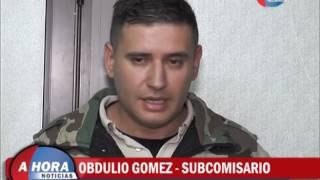 CIMINELLI   GOMEZ   MARTIGNONE   ISSA   VOISIN   REUNION CON PATRULLAS RURALES DE LA ZONA