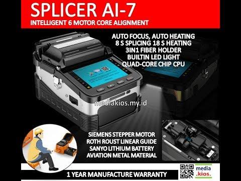 AI-7 Automatic Intelligent Optical Fiber Fusion Splicer