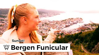 The Bergen Funicular Is Incredible!