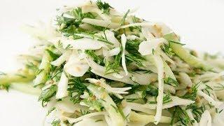 Салат из свежей капусты Рецепты салатов