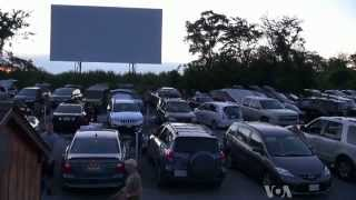 Video Drive-in Movies in US Still Draw Crowds download MP3, 3GP, MP4, WEBM, AVI, FLV Agustus 2017