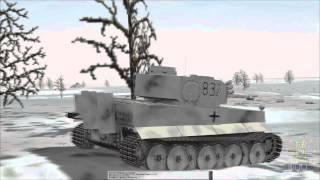 Part 1 - Prikeletnoye - Panzer Elite - German Campaign - PE3 Ostpak mod