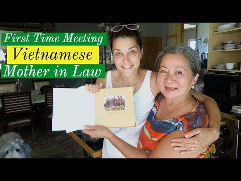 FIRST time meeting my VIETNAMESE Mother in...