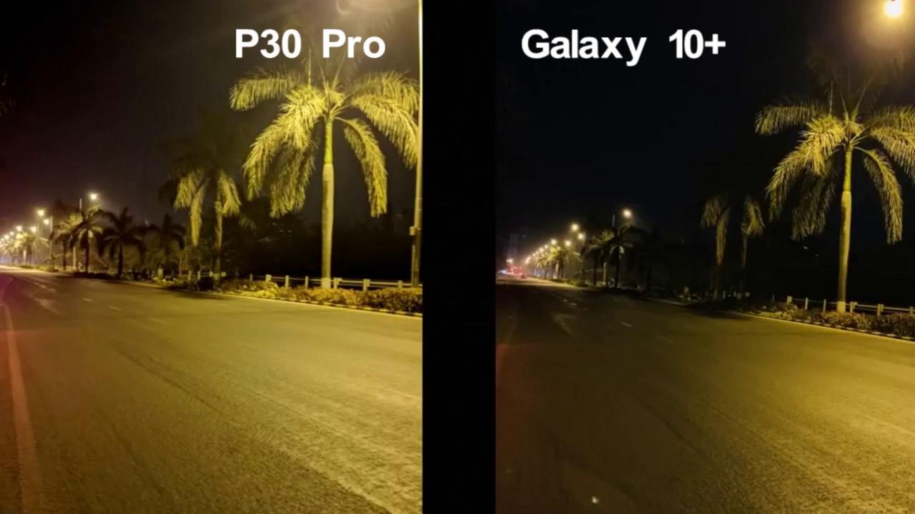 Huawei P30 Samsung S10