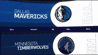 Dallas Mavericks vs Minnesota Timberwolves Game Recap | 1/11/19 | NBA