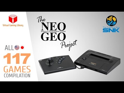 The NeoGeo AES Project - All 117 Games - Home Console Version - Every Game (US/JP)