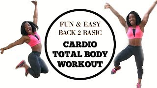 Cardio Total body workout|Cardio Focused Exercises| Cardio Love & hate Relationship