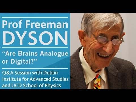 The importance of mathematics   Prof Freeman Dyson   University College Dublin