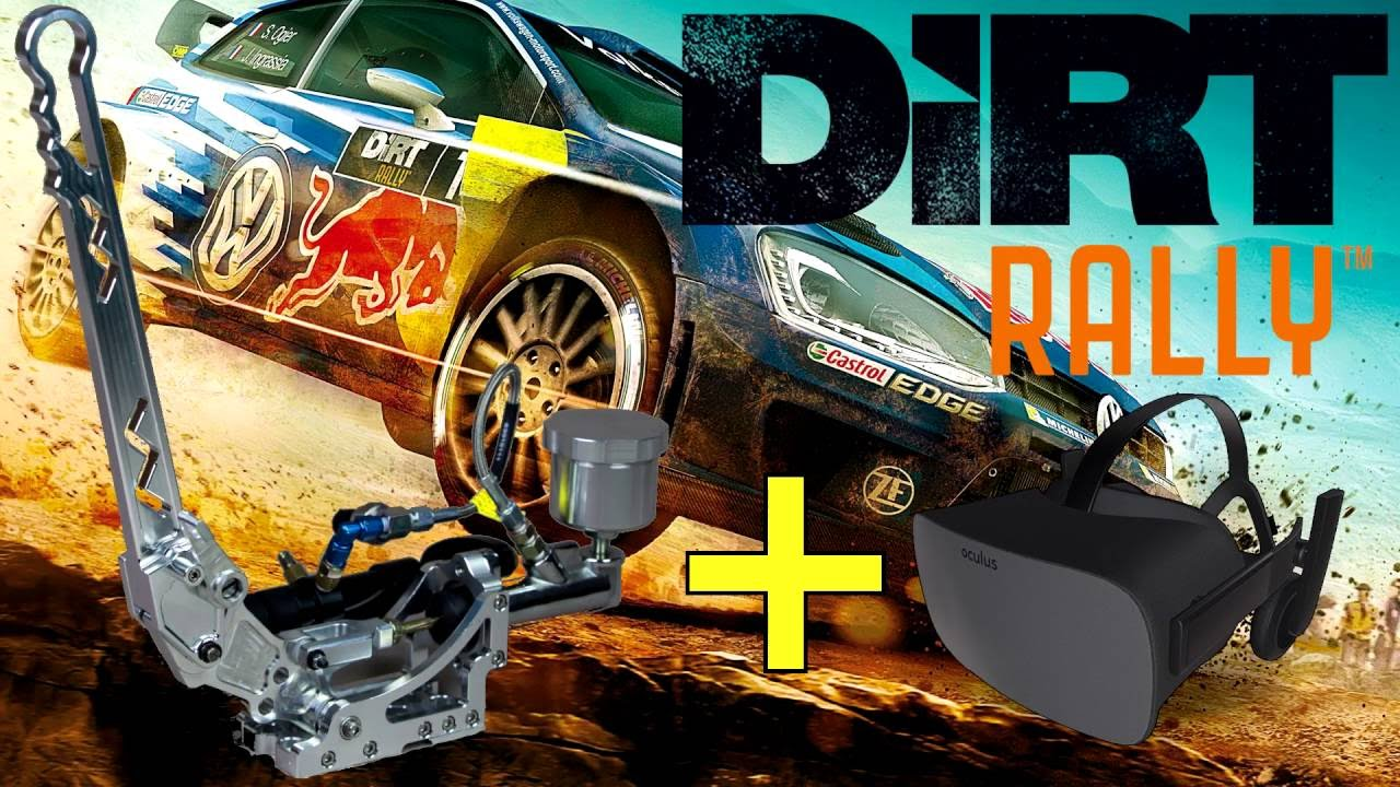 dirt rally vr with cv1 3dof motion and dsd type 3 handbrake youtube. Black Bedroom Furniture Sets. Home Design Ideas
