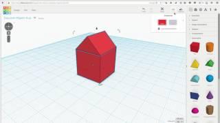 Tinkercad - Быстрое знакомство [3D моделирование]