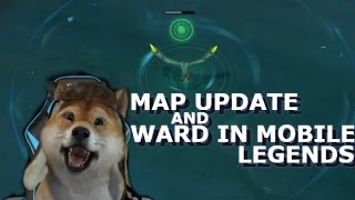Map update+Ward in MOBILE LEGENDS? + GIVEAWAY