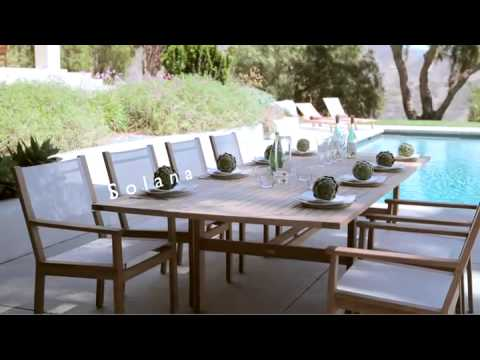 Gloster Solana Outdoor Furniture