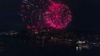 Awesome Bremerton Firework Show. Manette Bridge.