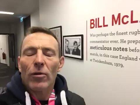 Joel Stransky on legendary commentator Bill McLaren