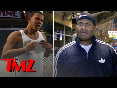 Shawn Fonteno -- Voice of Franklin in GTA V!!! | TMZ