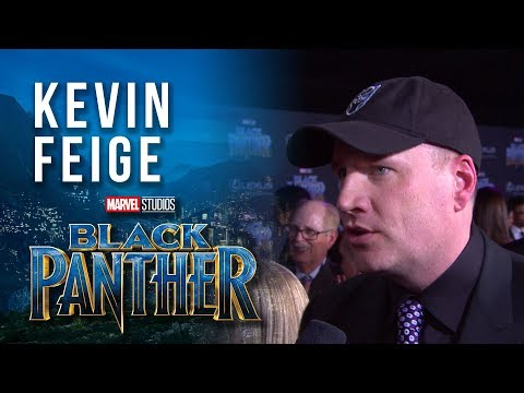 Producer Kevin Feige at Marvel Studios' Black Panther World Premiere Red Carpet