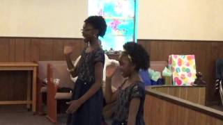 """Hey Black Child"" performed by McCloud girls"