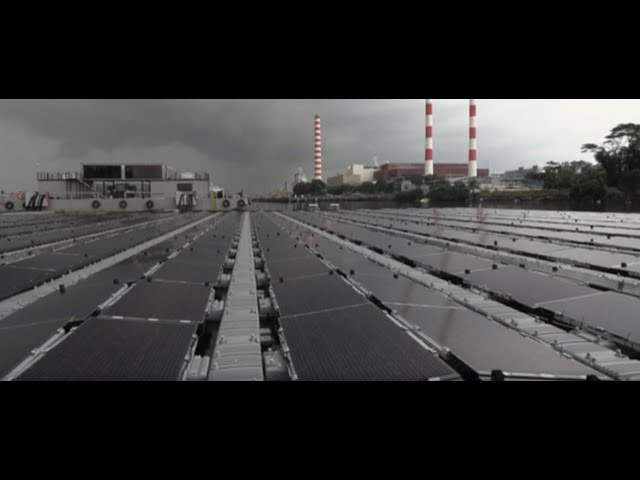 Singapore's Floating Solar Farms