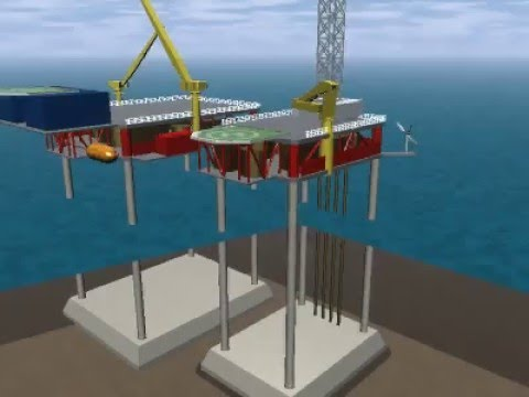 Sea Nova on Platform Oil or Gas Drilling