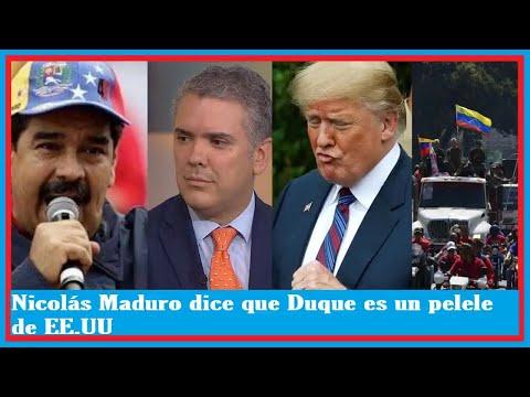 NOTICIAS DE HOY VENEZUELA 09 DE ENERO 2019   Nicolás Maduro dice que Duque es un pelele de EE.UU !