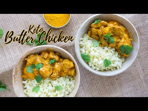 Keto Butter Chicken | Low Carb Indian Recipe