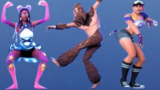 Fortnite All Dances Season 1-9 Updated to Work It