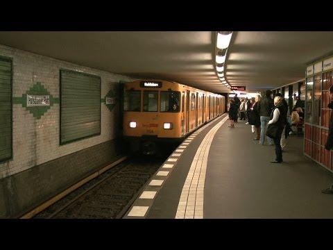 Berlin U-Bahn (metro) and S-Bahn