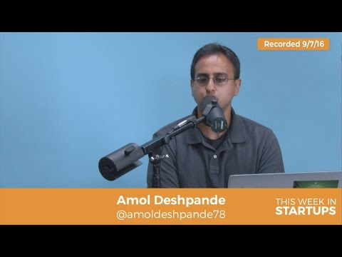 Amol Deshpande founder Farmers Business Network on world of organics and GMO's, and feeding humanity