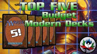 mtg – top 5 best cheapest competitive modern decks for magic the gathering