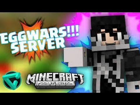 Minecraft egg wars server ip